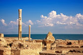 Ruins of Antonine Baths at Carthage, Tunisia — Foto de Stock