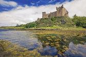 邓韦根城堡在苏格兰斯凯岛 — 图库照片