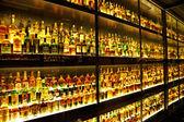 帝亚吉欧 claive vidiz 集合,在世界最大的苏格兰威士忌收藏 — 图库照片