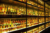 Diageo Claive Vidiz collection, the largest Scotch Whisky collection in the world — Stock Photo