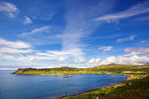 View on Uig harbour and village, Isle of Skye, Scotland — Stock Photo