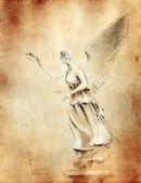 Zafer - antik heykel resmi kopyala — Stok fotoğraf