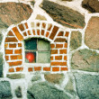 Stone Window — Stock Photo