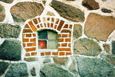 Stone Window — Fotografia Stock