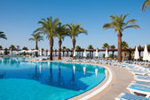 Swimming pool, Turkey — Stock Photo
