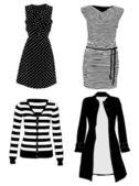 Clothes vector — Stock Vector