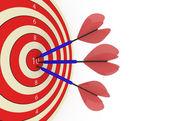 Success target concept — Stock Photo