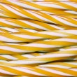 Sweet candy cane background — Stock Photo