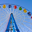 Ferris wheel in Amusement Park — Stock Photo #10881095
