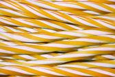 Sweet candy cane background — Stock Photo