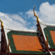 Thai temple in Bangkok — Foto Stock