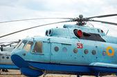 Elicottero anfibio — Foto Stock