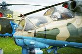 Hélicoptère militaire — Photo