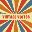 Vintage vector - Stock Vector
