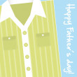 Fathers day card — Stock Vector #10738557