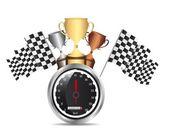 Speed racing — Stock Vector