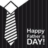Gelukkig vaders dag — Stockvector