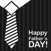 Happy fathers day — Vector de stock