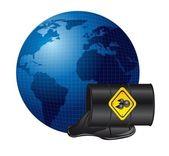 Oil spill — Stock Vector