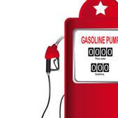 Gasoline pump — Stock Vector
