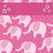 Royalty-Free Stock Imagen vectorial: Cute elephant
