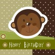 Birthday card — Stock Vector #11135398