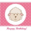 Birthday card — Stock Vector #11135409
