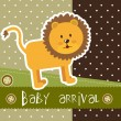 Royalty-Free Stock Vector Image: Baby arrival