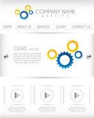 Website vector — Stock Vector