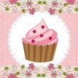 Cup cake — Stock Vector #11248756
