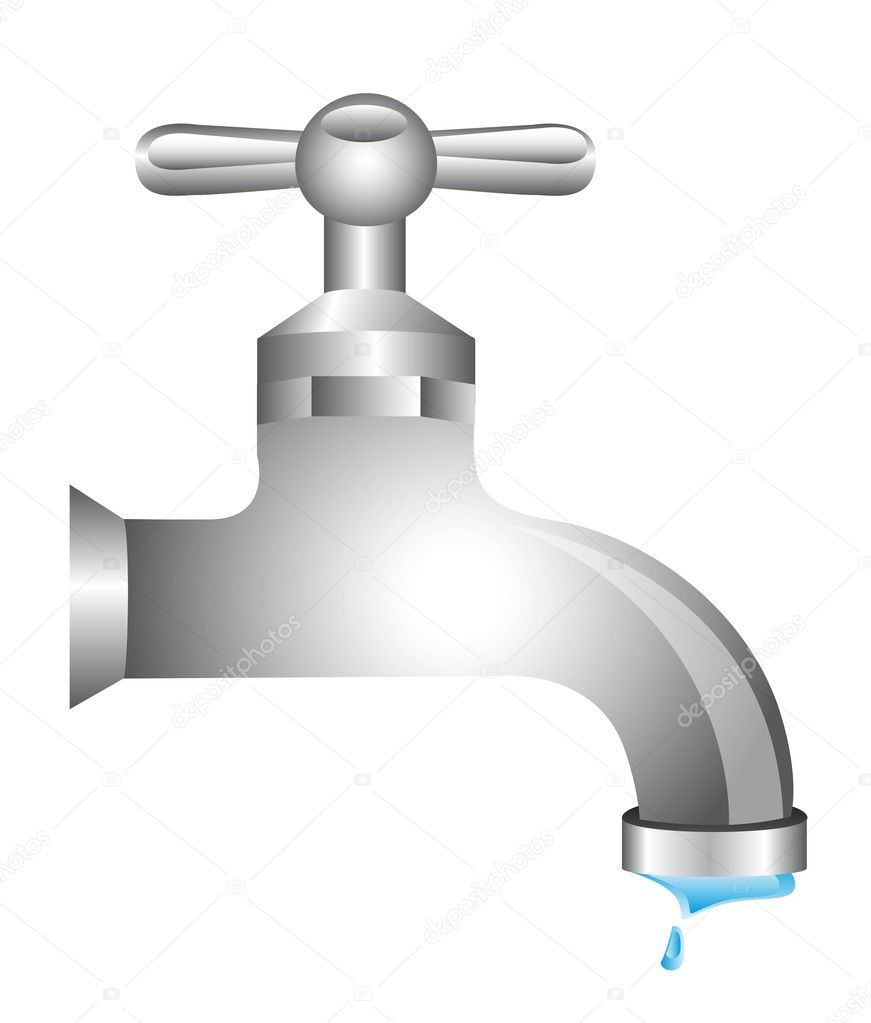 Llave agua vector de stock 11349480 depositphotos for Accesorios para llaves de agua