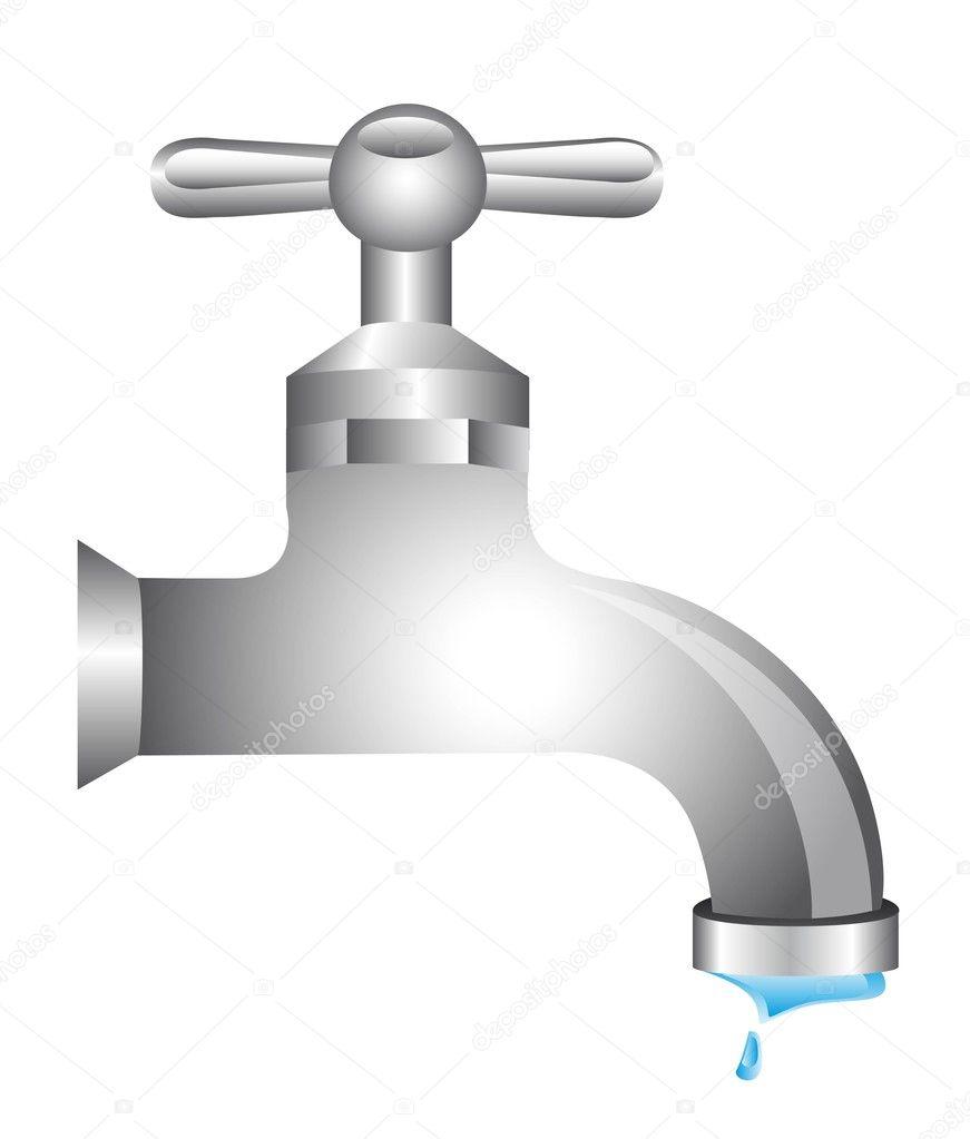 Llave agua vector de stock yupiramos 11349480 for Imagenes de llaves de agua