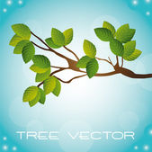 Tree vector — Stock Vector