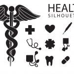 Постер, плакат: Health icons