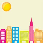 城市颜色 — 图库矢量图片