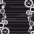 Gears vector — Stock Vector