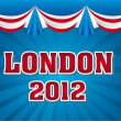 London 2012 — Stock Vector