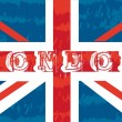 Flag london - Stock Vector