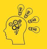 Thinking — Stock Vector