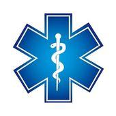 Medicinsk symbol — Stockvektor