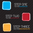 Vector de stock : Steps