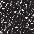 Musical notes — Vector de stock #11945484