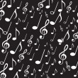Musical notes — Vector de stock