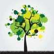 Royalty-Free Stock Vectorafbeeldingen: Beautiful tree