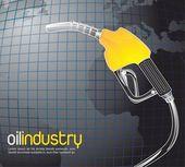 Oil industry — Stock Vector