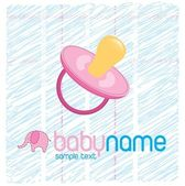 Baby card — Stock Vector