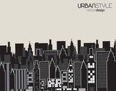 Urbanamiejski — Wektor stockowy