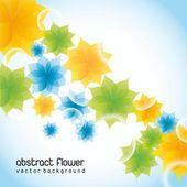 Flowers vector — Stock Vector