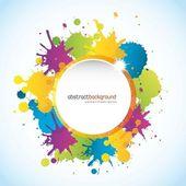 Colorful design — Stock Vector