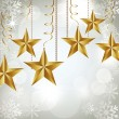 Christmas stars — Stock Vector